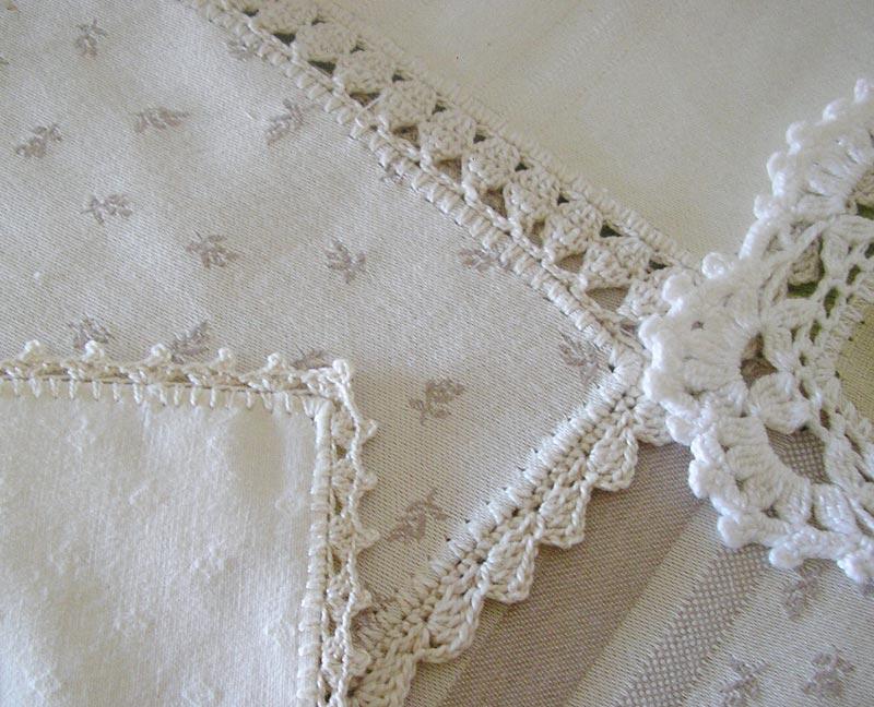 badulake de ana manteles con retales y rematados a ganchillo On manteles de ganchillo y tela