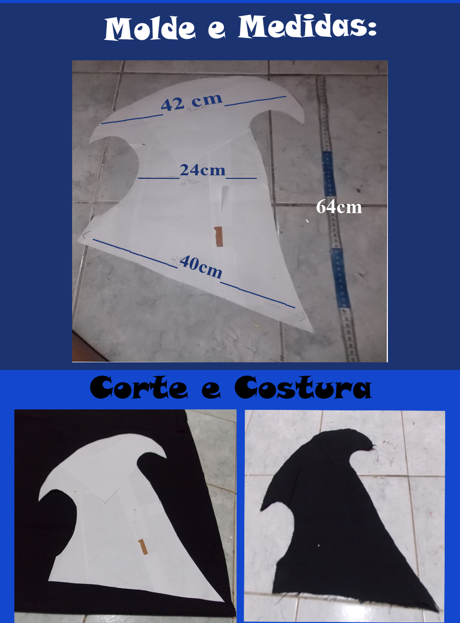 SetCosplay  Tutorial Cosplay  Capuz da Ashe - LOL b2df3e1db88
