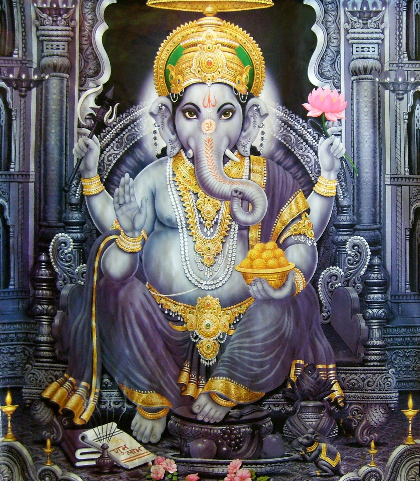 Gods Wallpaper: GOD HD WALLPAPERS: Ganesha HD Wallpaper