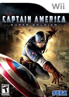Captain America: Il Super Soldato Wii