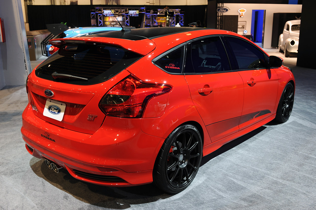 All Tuning Cars Nz 2012 Ford Focus St Concept At Sema