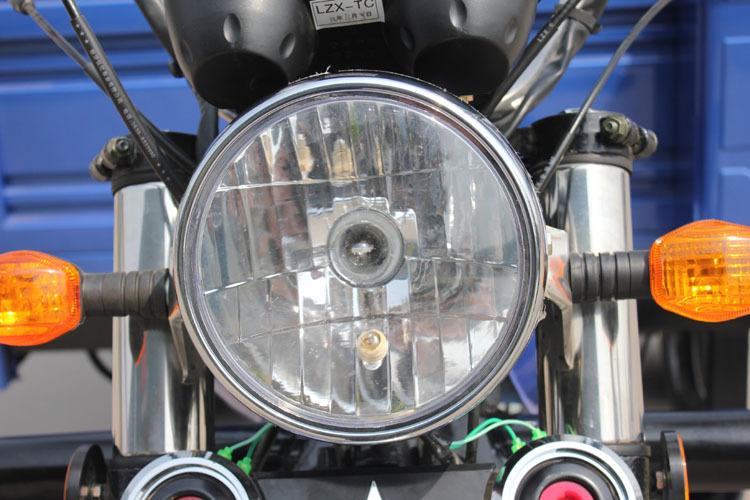 Iluminacion triciclo de carga
