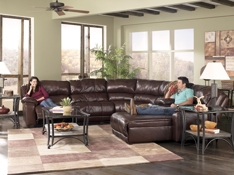 Ashley Furniture Braxton Leather Sectional