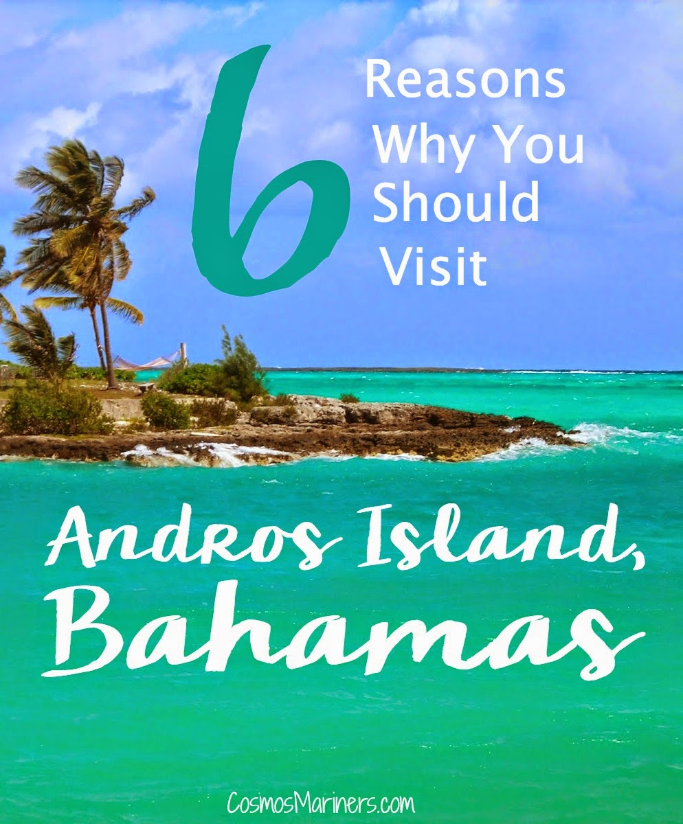 6 Reasons Why You Should Visit Andros Island, Bahamas | CosmosMariners.com