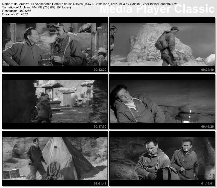 Capturas: El abominable hombre de las nieves | 1957 | The Abominable Snowman