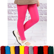 Cotton Legging Black/Pink
