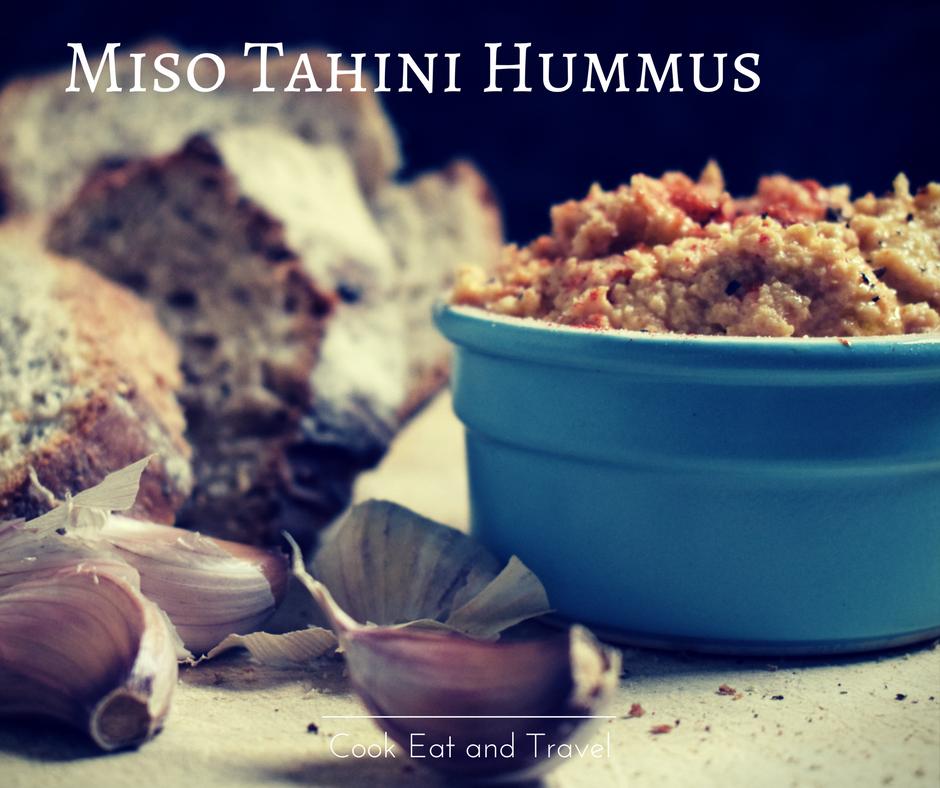 miso hummus