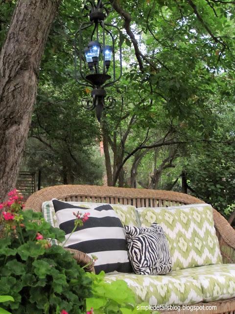 diy outdoor solar chandelier
