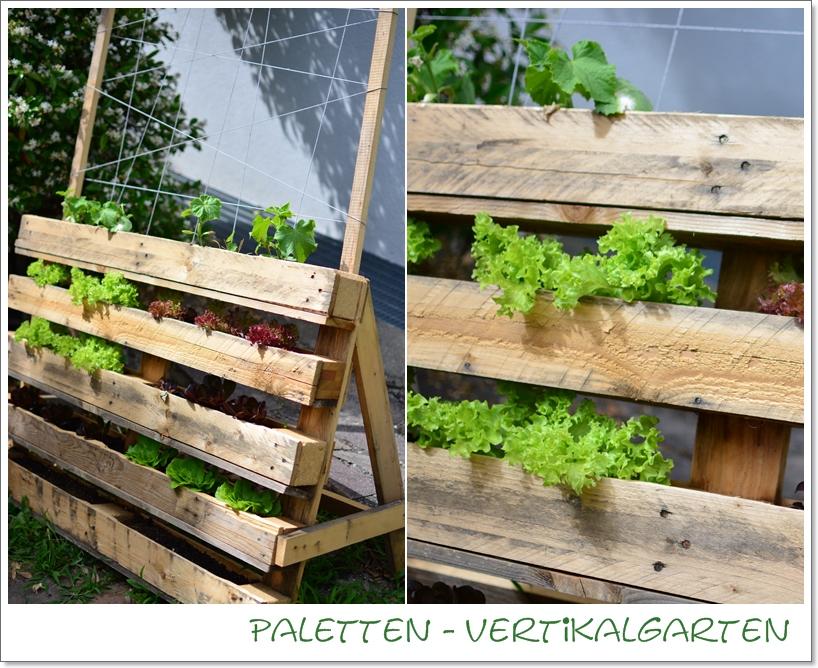 gartenbeet in der vertikalen, Gartenarbeit