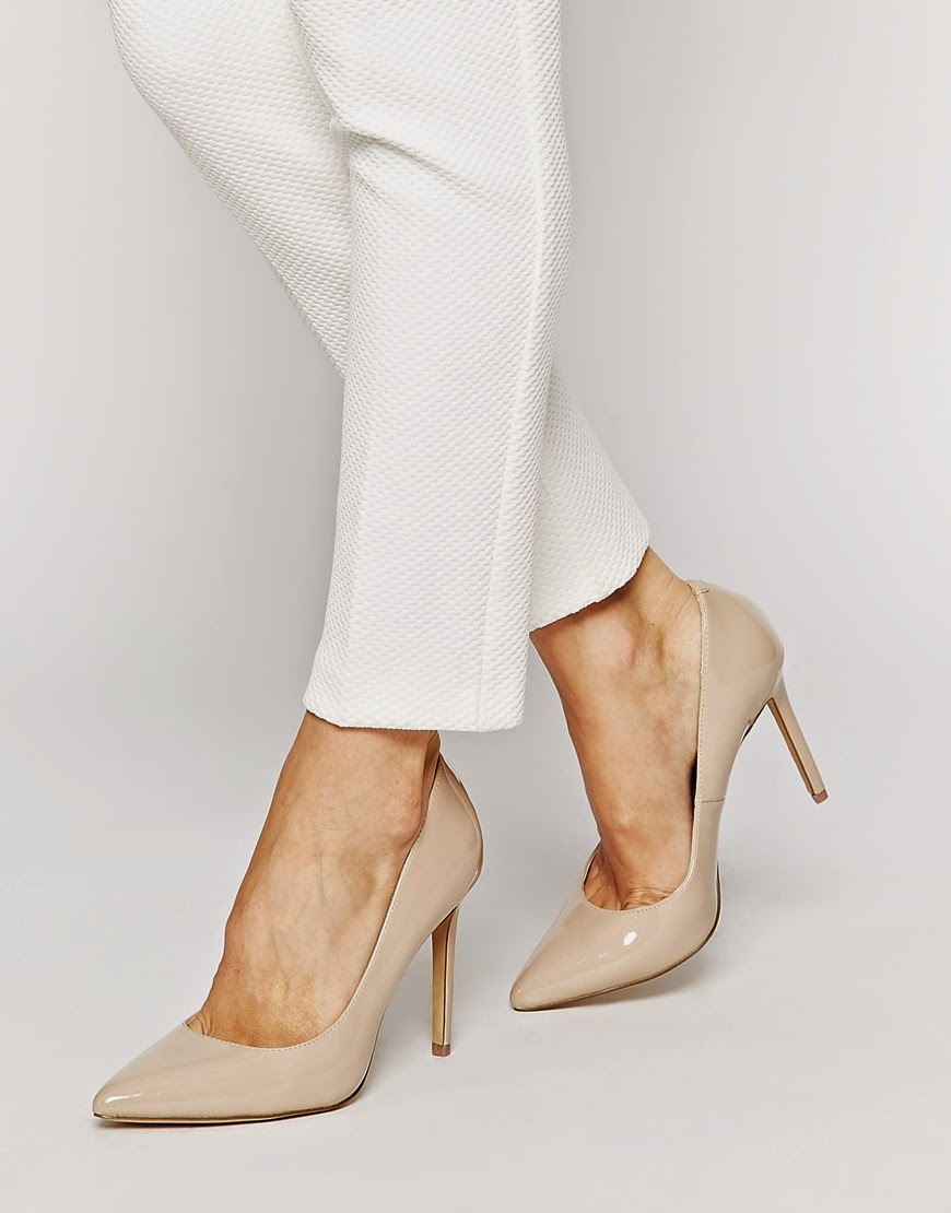 kurt geiger nude heels, kurt geiger bailey shoes review,