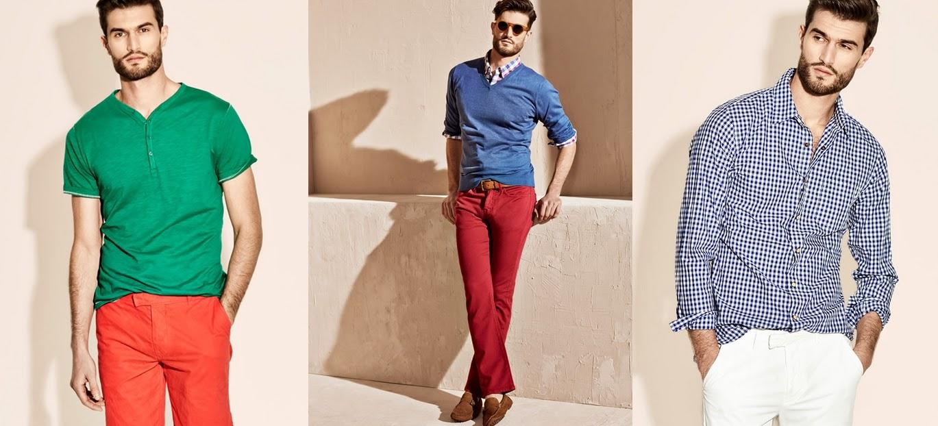 moda informal hombre