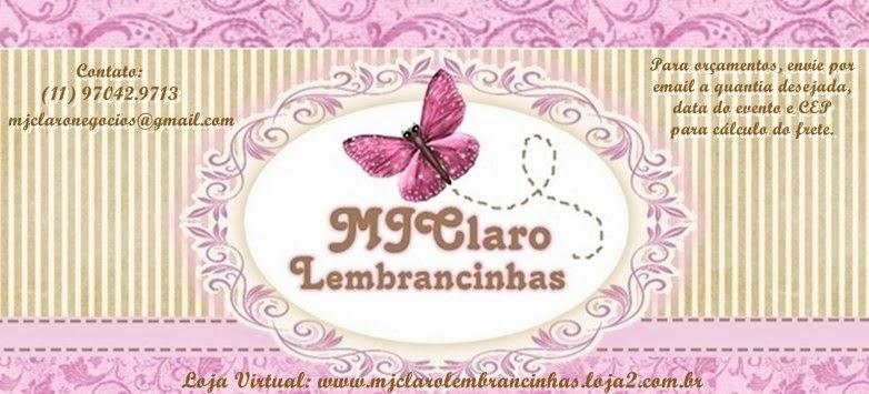MJClaro Lembrancinhas