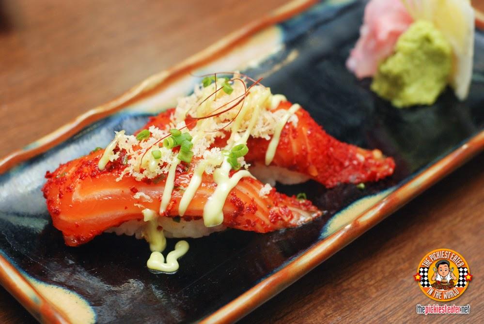 Sake Togarashi Sushi