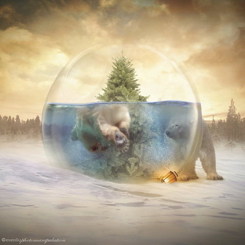 21-The-Pool-Even-Liu-Surreal-Photo-Manipulations-and-the-Lantern-www-designstack-co