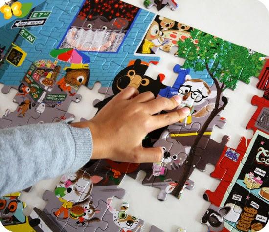 puzzle Mouk de 96 pièces par Petit Jour Paris