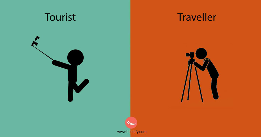 #1 Tourist Vs Traveller - 10+ Differences Between Tourists And Travellers