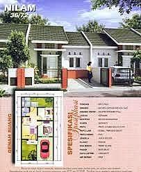 desain rumah pilihan: rumah dua lantai 6x12mhomeplans.id