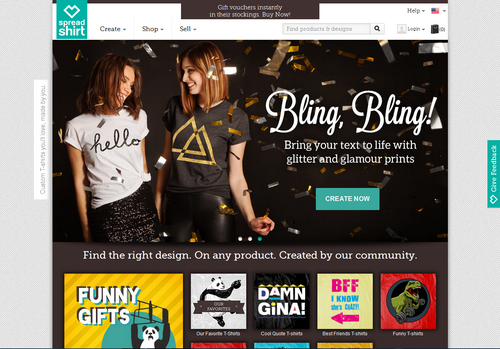 spreadshirt blogolect