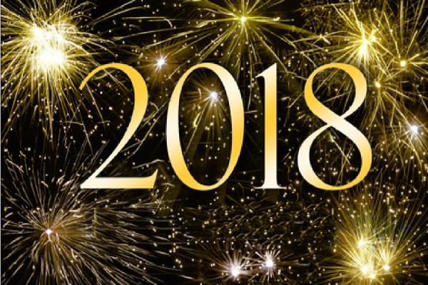 Fabuleux Image bonne année 2018 KV42