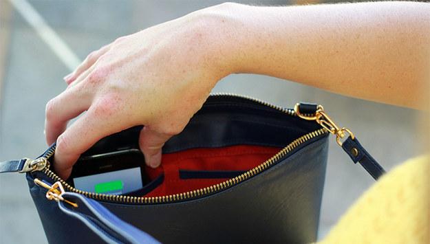 gadgets, oficina, bolso, cargador smartphone