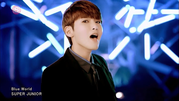 Super Junior Ryeowook Blue World