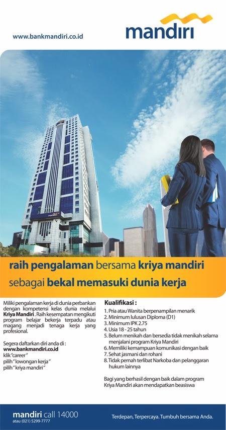 Lowongan Kerja Credit Administration Officer - Micro Banking PT Bank Mandiri