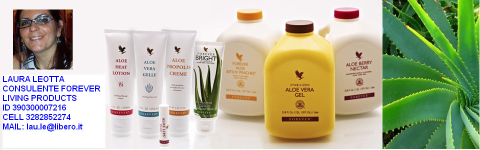 Aloe vera forever forever living products ragusa for Forever genova