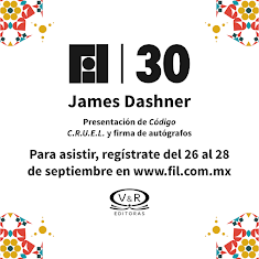 James Dashner en la FIL  Gdl 2016