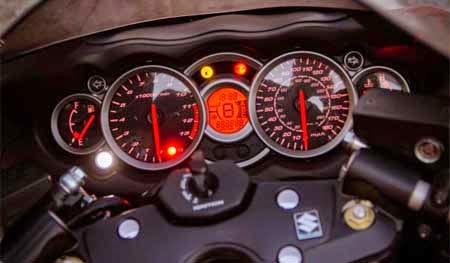 Panel Instrumen / Dashboard Suzuki Hayabusa
