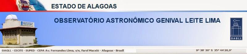 <center>OBSERVATÓRIO ASTRONÔMICO GENIVAL LEITE LIMA</center>