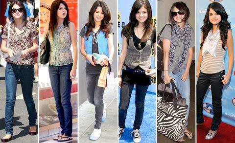 Diversas tendências de moda para adolescentes