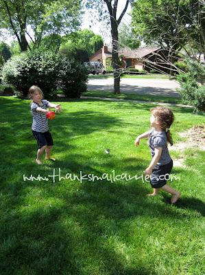 kids playing catch