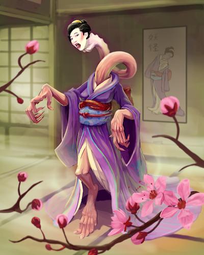 Ma cổ dài ở Nhật Bản