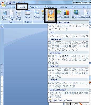 Mendesain Sertifikat/Ijasah dengan Microsoft Word