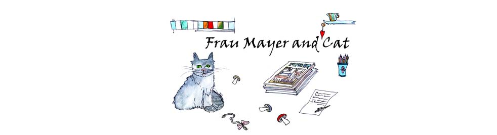 Frau Mayer and Cat