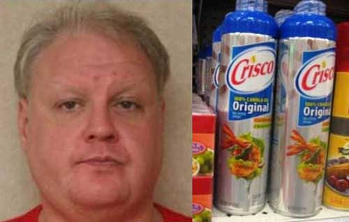 Naked Man Covered in Crisco Told Police He was Looking