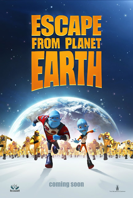 Escape from Planet Earth 2013 Movie Poster