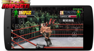TNA Impact 2010 Game PSP High Compress