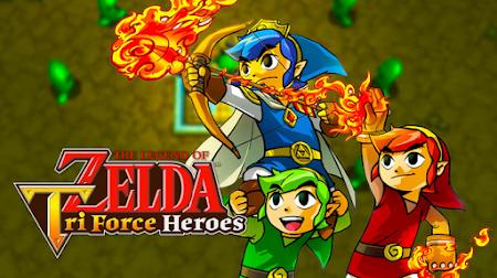 The Legend of Zelda: Tri-Force Heroes anota el peor estreno portátil de la saga en Japón