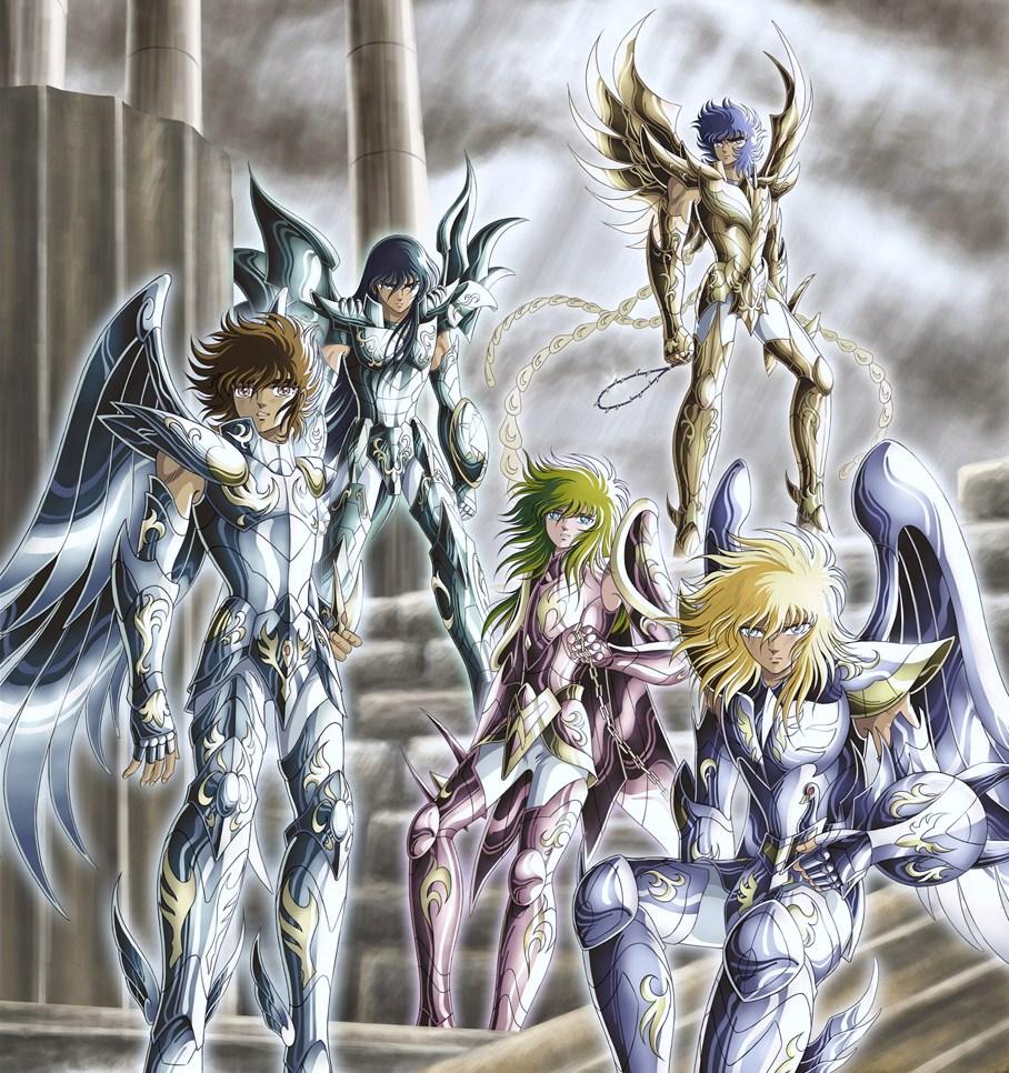[Anime do Mês] - Os Cavaleiros do Zodíaco Cdz+-+armaduras+divinas