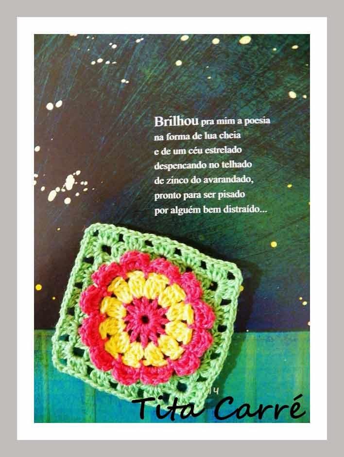 Square Flores com Pétalas 3D com mais poesia