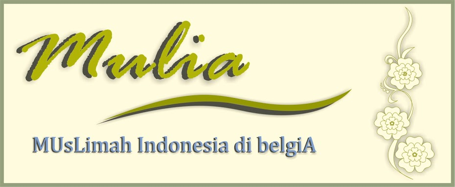 Muslimah Indonesia Belgia