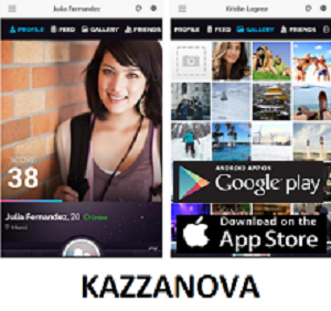 Social App of the Month  - KAZZANOVA
