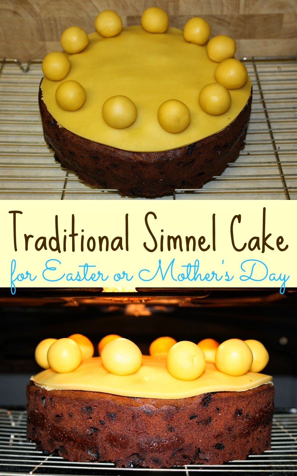 associated with mothering sunday is simnel cake a type of fruit cake ...