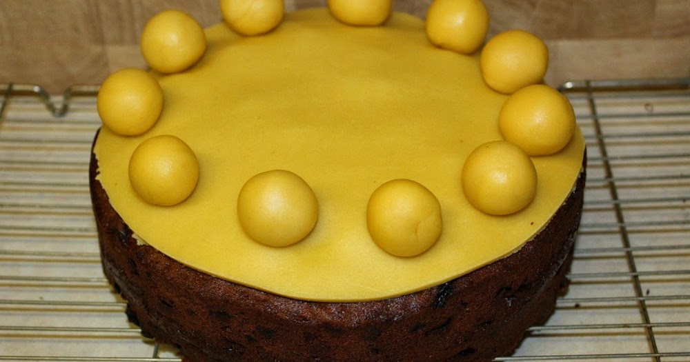 how to make simnel cake