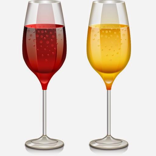 Wine Glass Icon PSD