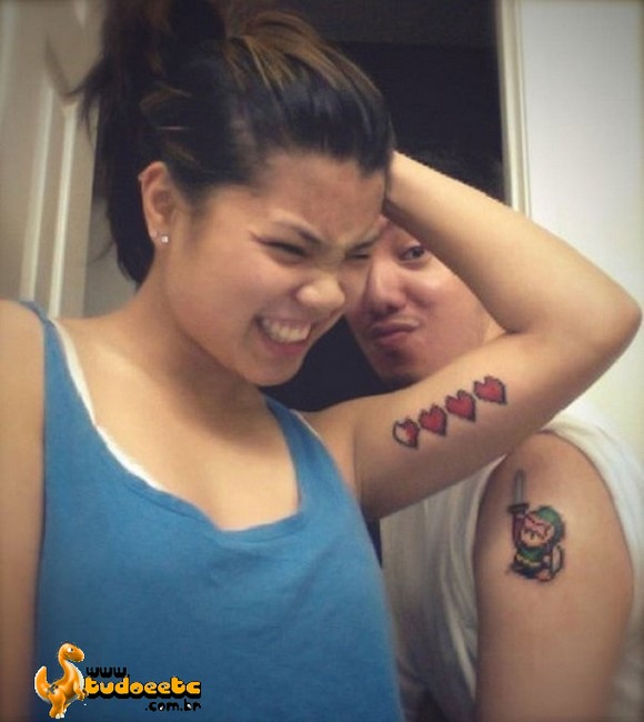 Overdose de fofura: Tatuagens para casais