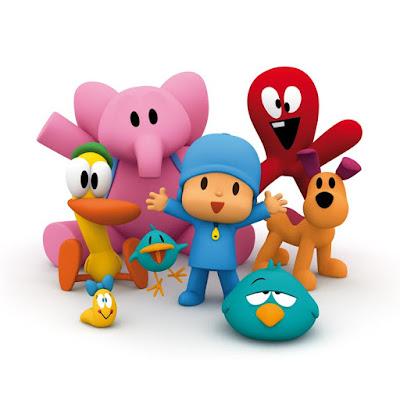 Pocoyó presenta sus juegos para niños