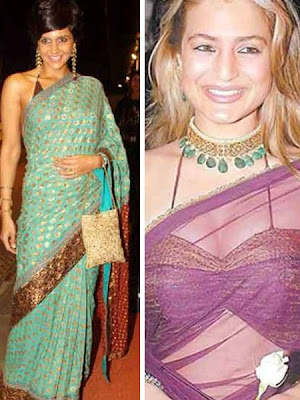 Top Celebrity In Choli Style