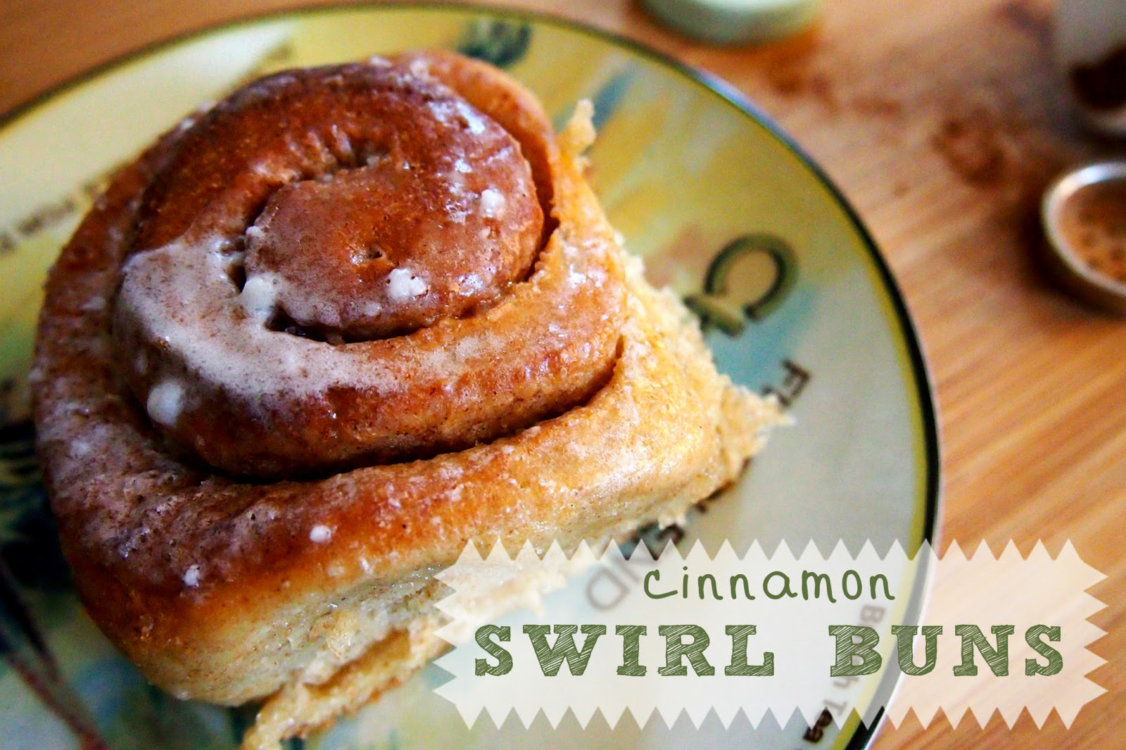 On High Occasions: Cinnamon Swirl Buns (with Icing!)